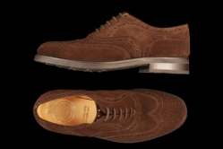 MODEL: TALISKER - COLOR: DARK BROWN SUEDE - SHAPE: 439