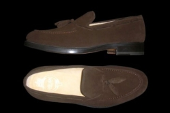 MODEL: LIVET - COLOR: DARK BROWN SUEDE - SHAPE: 439