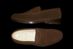 MODEL: ARRAN - COLOR: DARK BROWN SUEDE - SHAPE: 439