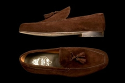 MODEL: GIGLIO - COLOR: DARK BROWN SUEDE - SHAPE: 07