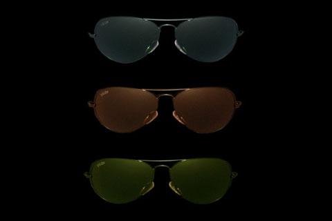 MODELLO: DEAN - MONTATURA: metallo nero - LENTI: in puro cristallo nei colori grey, brown, green