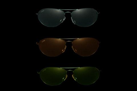 MODELLO: REDFORD - MONTATURA: metallo nero - LENTI: in puro cristallo nei colori gray, brown, green