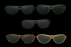 MODEL: NEWMAN - FRAME: glossy black, mat black, dark tortoise, light tortoise, honey  - LENS: pure crystal, grey, brown, green