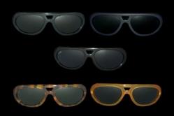 MODEL: SENNA - FRAME: glossy black, mat black, dark tortoise, light tortoise, honey - LENS: pure crystal, grey, brown, green