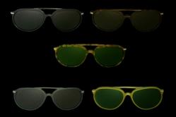MODEL: WAYNE - FRAME: metal/plastic in black, dark tortoise, light tortoise, green, honey  - LENS: pure crystal, grey, brown, green
