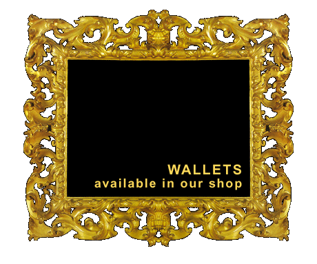 Womens wallets, available in our shop